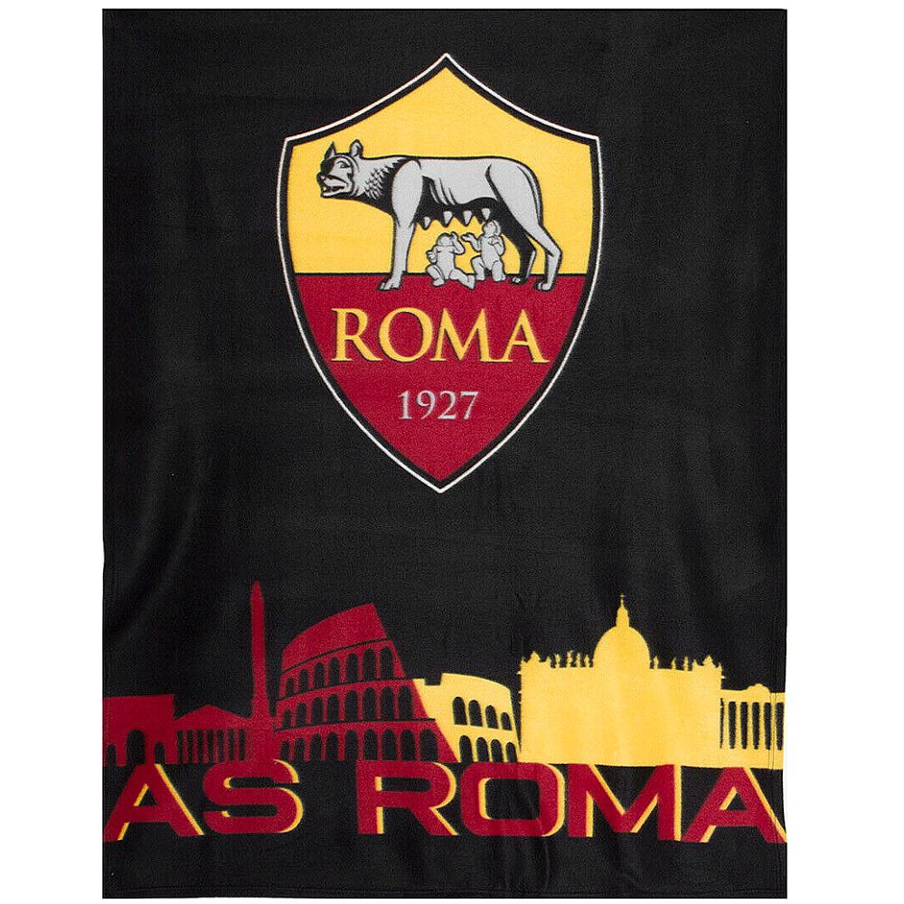 Plaid in pile ufficiale della Roma