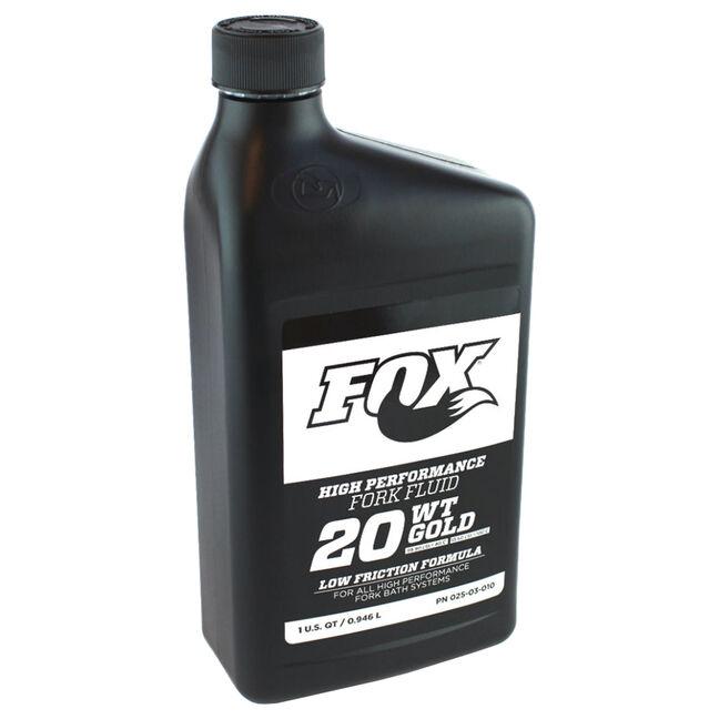 FOX Olio Sospensioni Fox Fluid Gold 20WT 946 ml