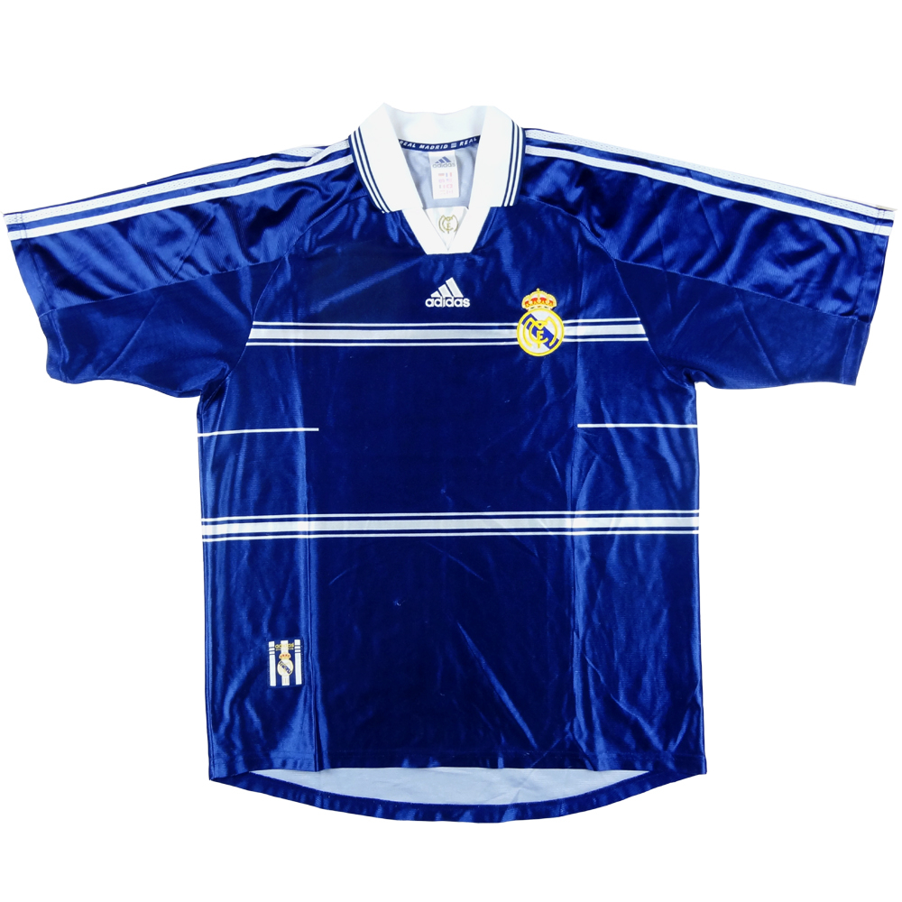 1998-99 Real Madrid Maglia Away L
