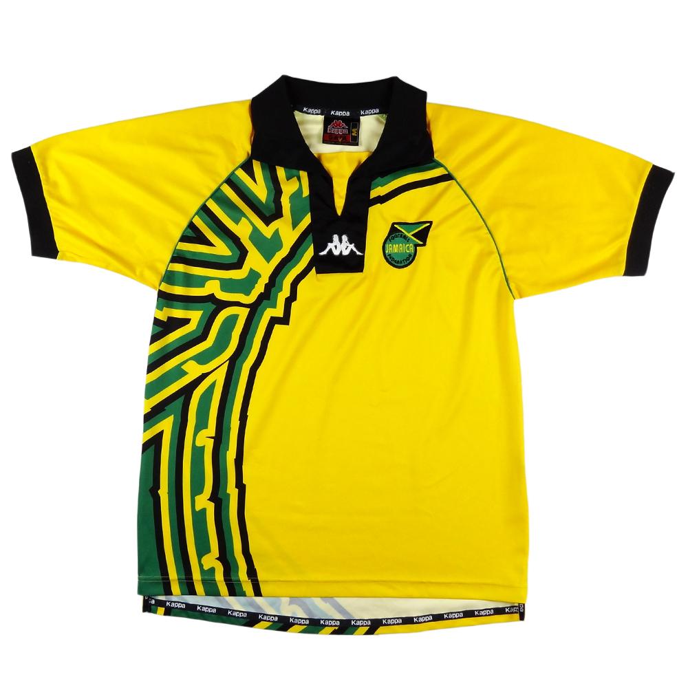 1998-00 Jamaica Maglia Home M