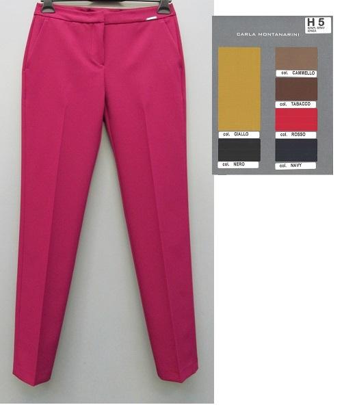 Pantalone uomo con tasche doppi filetti dietro