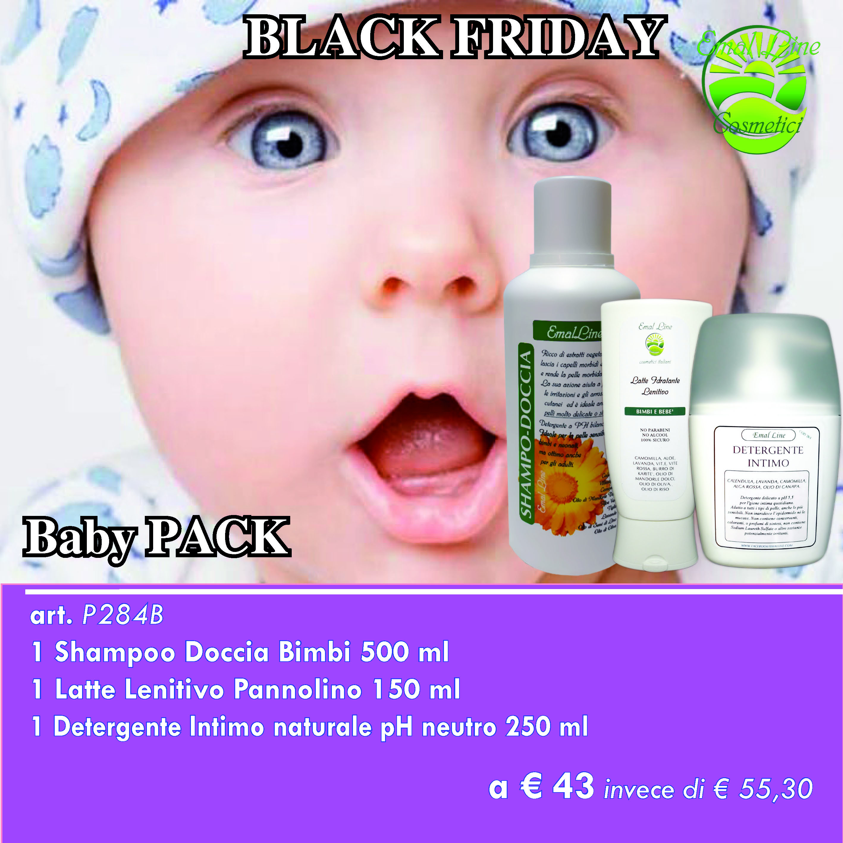 Baby Pack 3 prodotti
