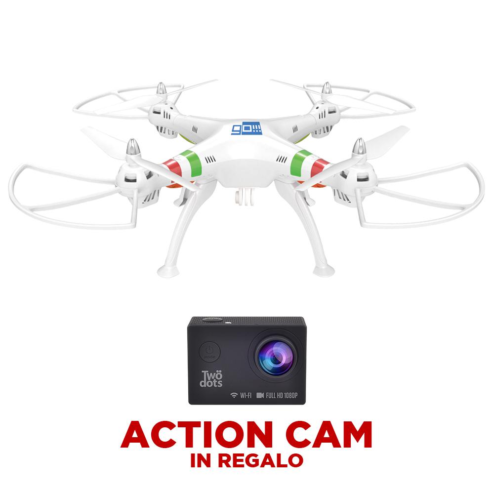 GO!!! + Action Camera fullHD