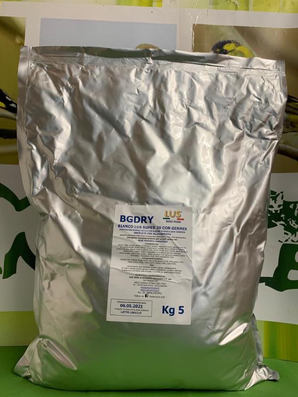 BGDRY bianco Lus super 20 con Germix 5kg