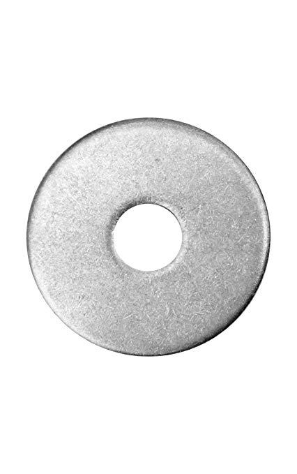 Friulsider rondella piana larga zincata bianca 10,5x30 spessore 2,5 per barra M10 conf.200pz