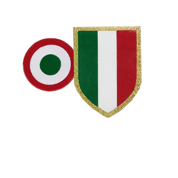 2015-18 Juventus Serie A Scudetto & Coppa Italia Patch Player Issue