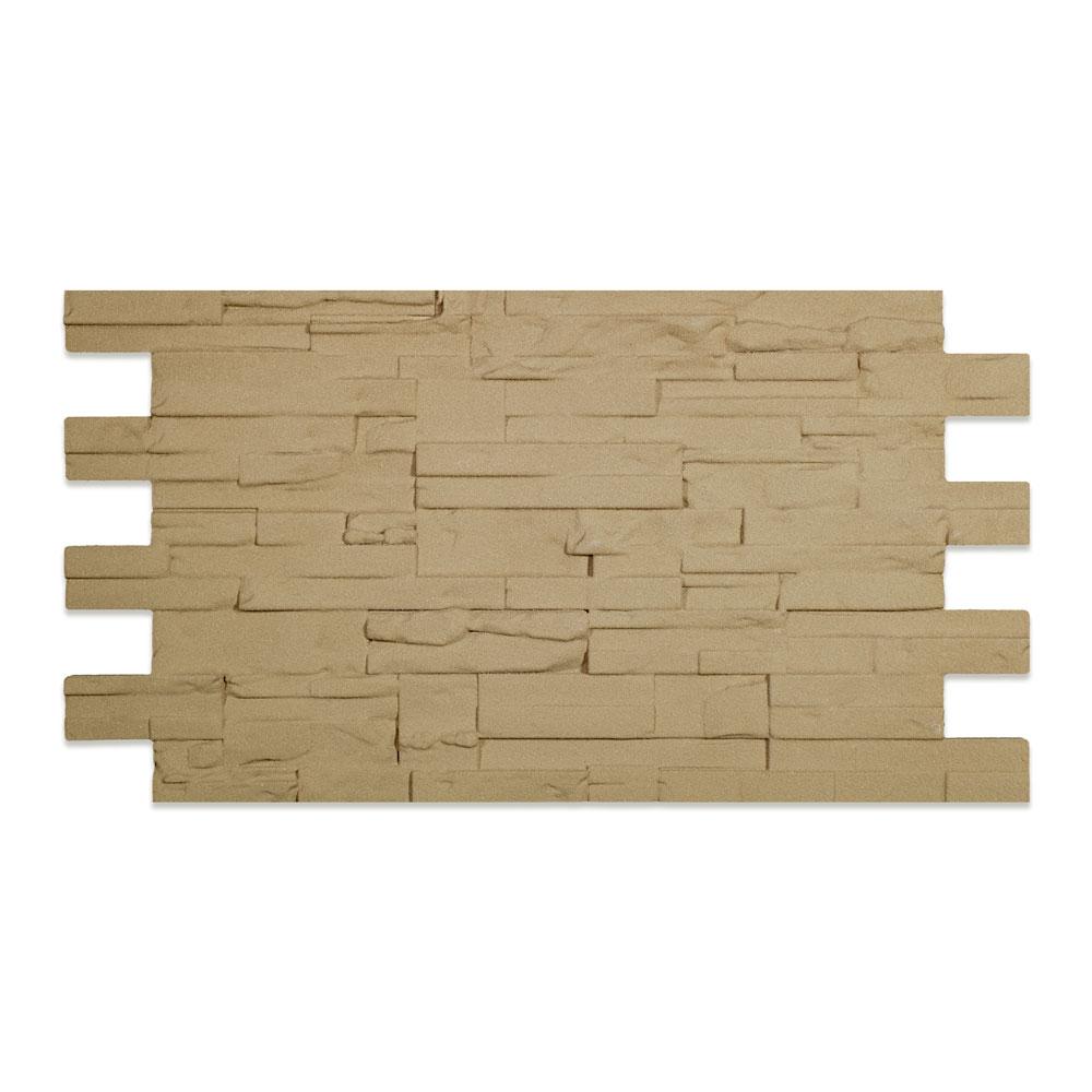 Modern Covered Stone Panel Tufo