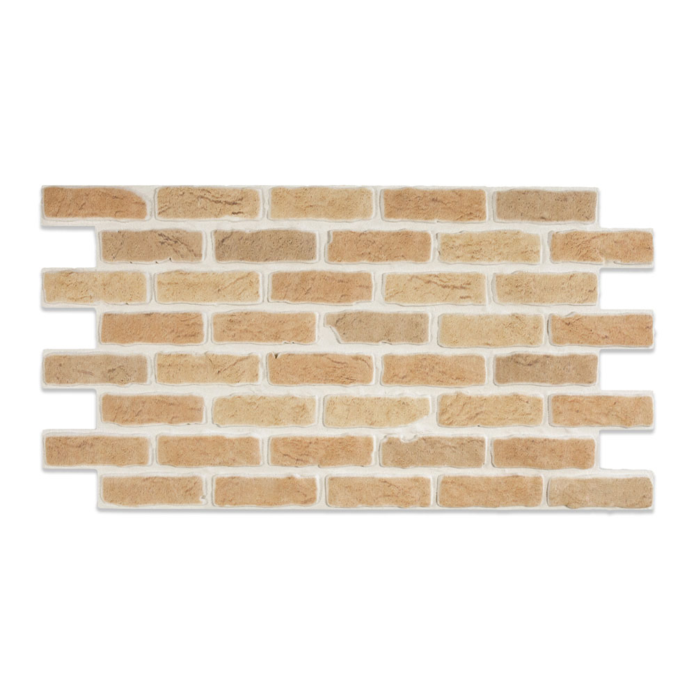 Modern Covered Brick Panel Etrusco