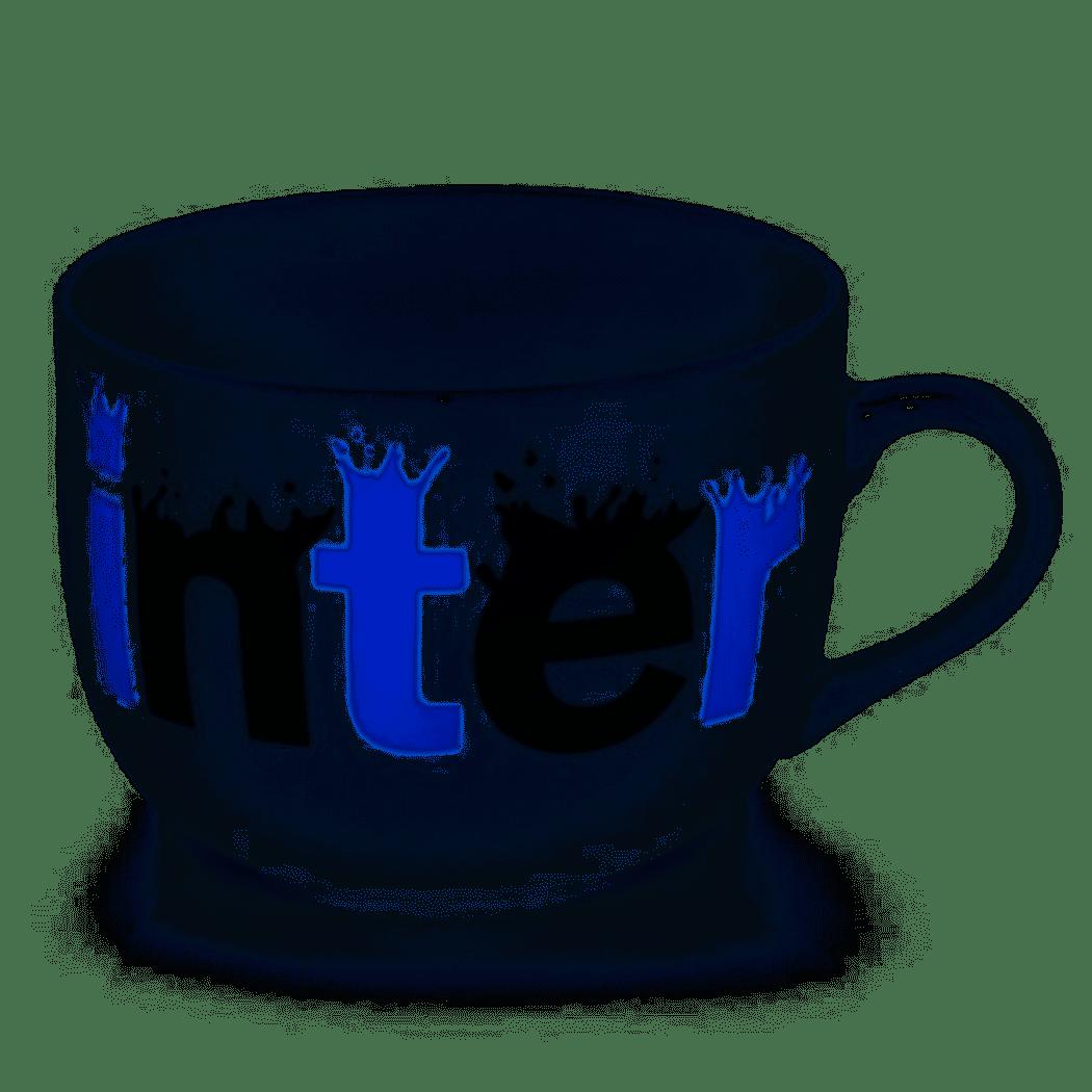 Tazza Inter per la colazione in ceramica