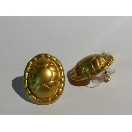 Orecchini Tartaruga cultura Azteca Luis Alberto Cano