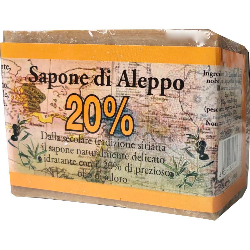 Sapone di Aleppo 20%
