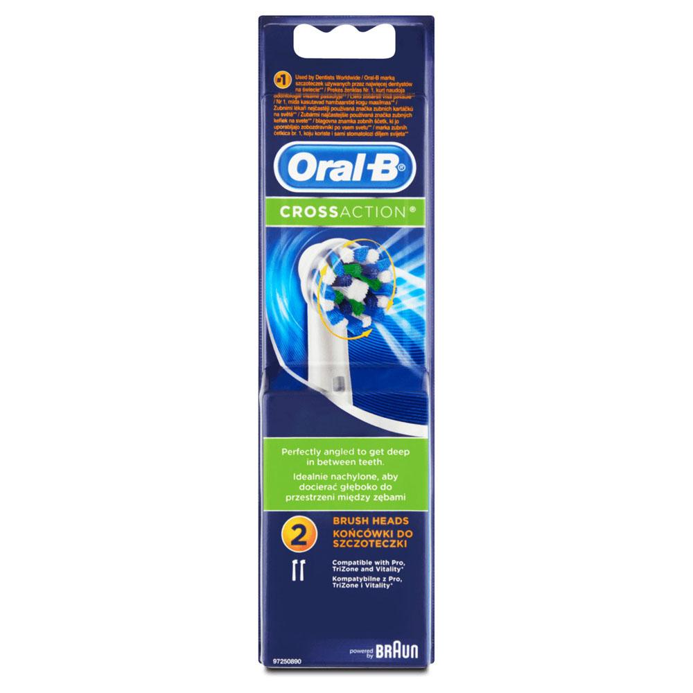 ORAL-B CrossAction Testina di Ricambio