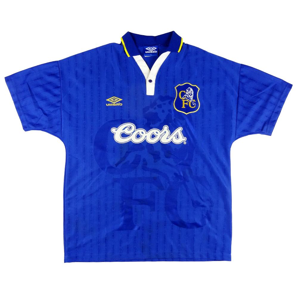 1995-97 Chelsea Maglia Home L (Top)