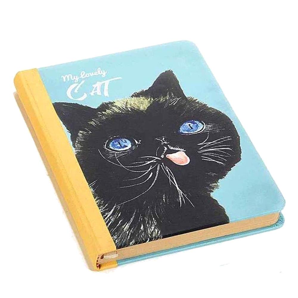 Quaderno My Lovely Cat con pagine in carta kraft