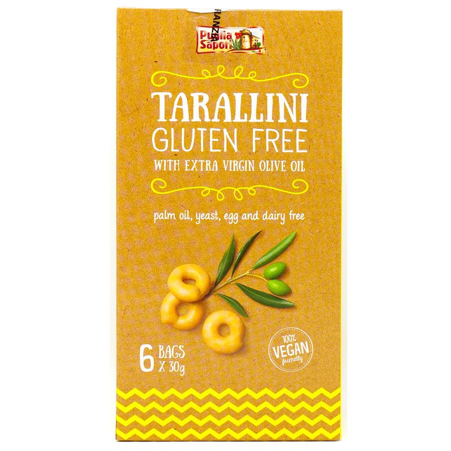 Tarallini con olio extravergine d'Oliva
