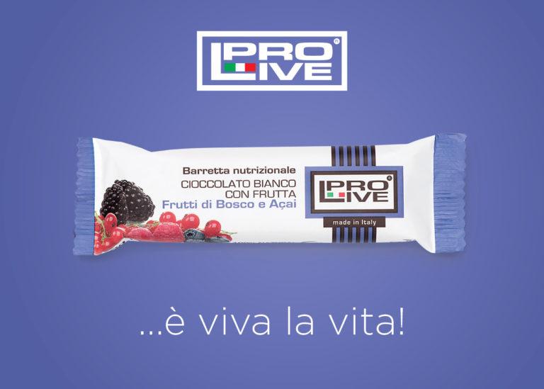 Barretta Nutrizionale Frutti di Bosco e Acai