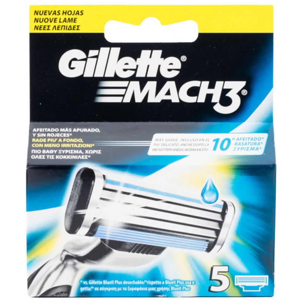 GILLETTE Mach3 Ricarica x5
