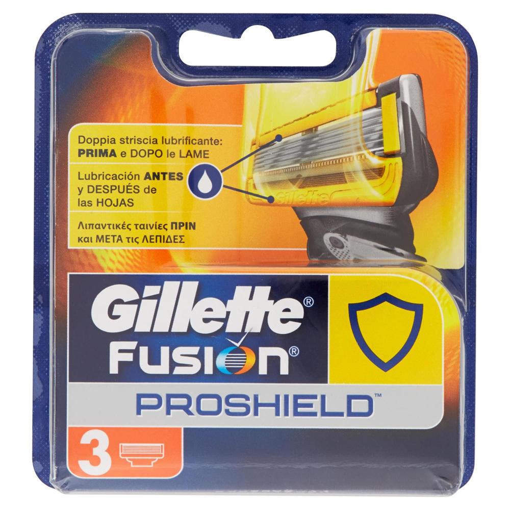 GILLETTE Fusion Proshield Ricarica x3