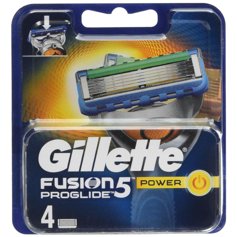 GILLETTE Fusion5 Proglide Power Ricarica x4