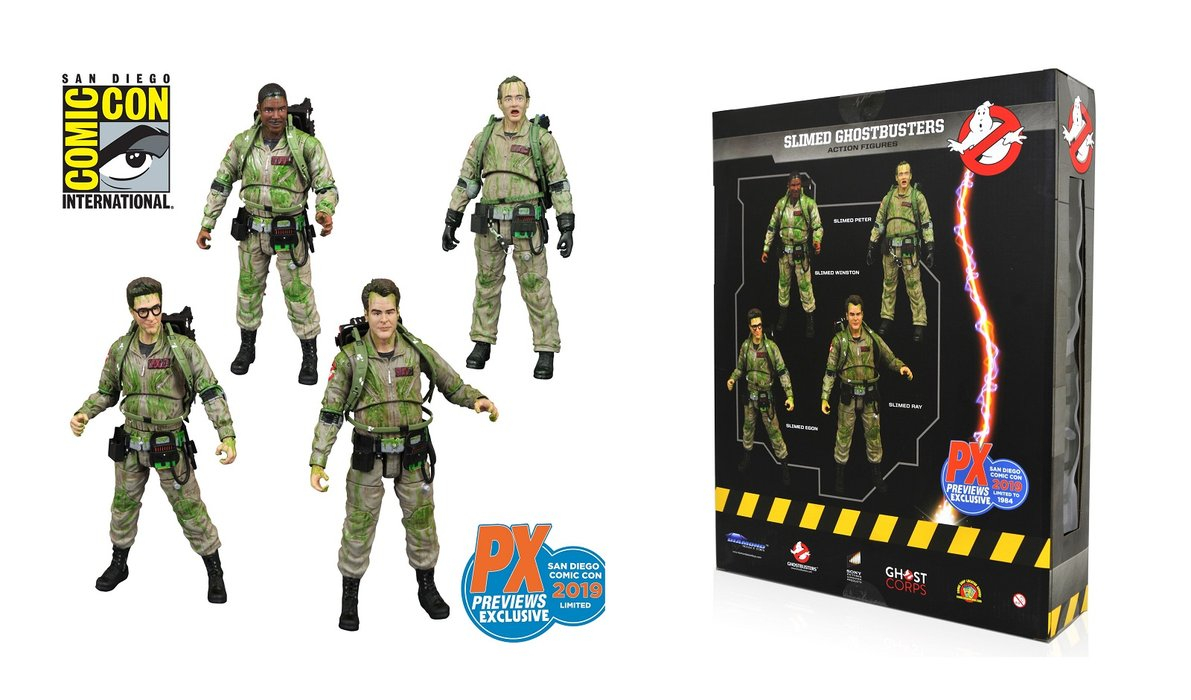 Slimed Ghostbusters Exclusive SDCC 2019 by Diamond Select