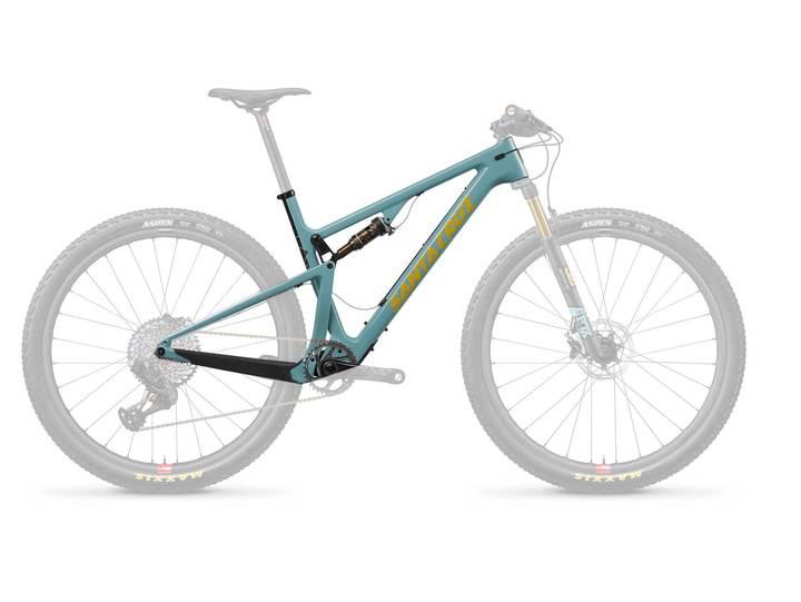 SANTA CRUZ Bici  Blur C Gloss Aqua