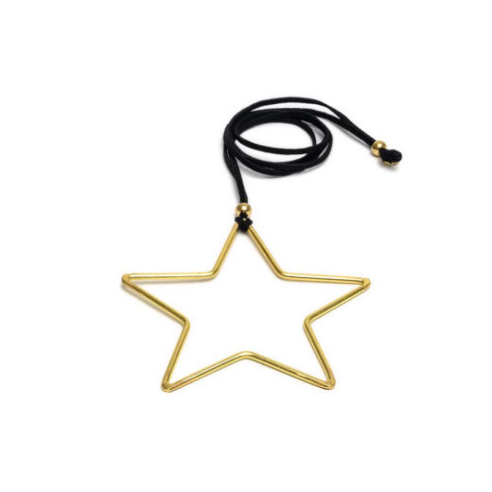 Star Shape Pendant Necklace Vestopazzo