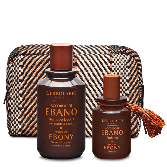 Accordo di Ebano Beauty Set Profumo con Profumo 50 ml e Shampoo  Doccia 250 ml - Ed.Lim.