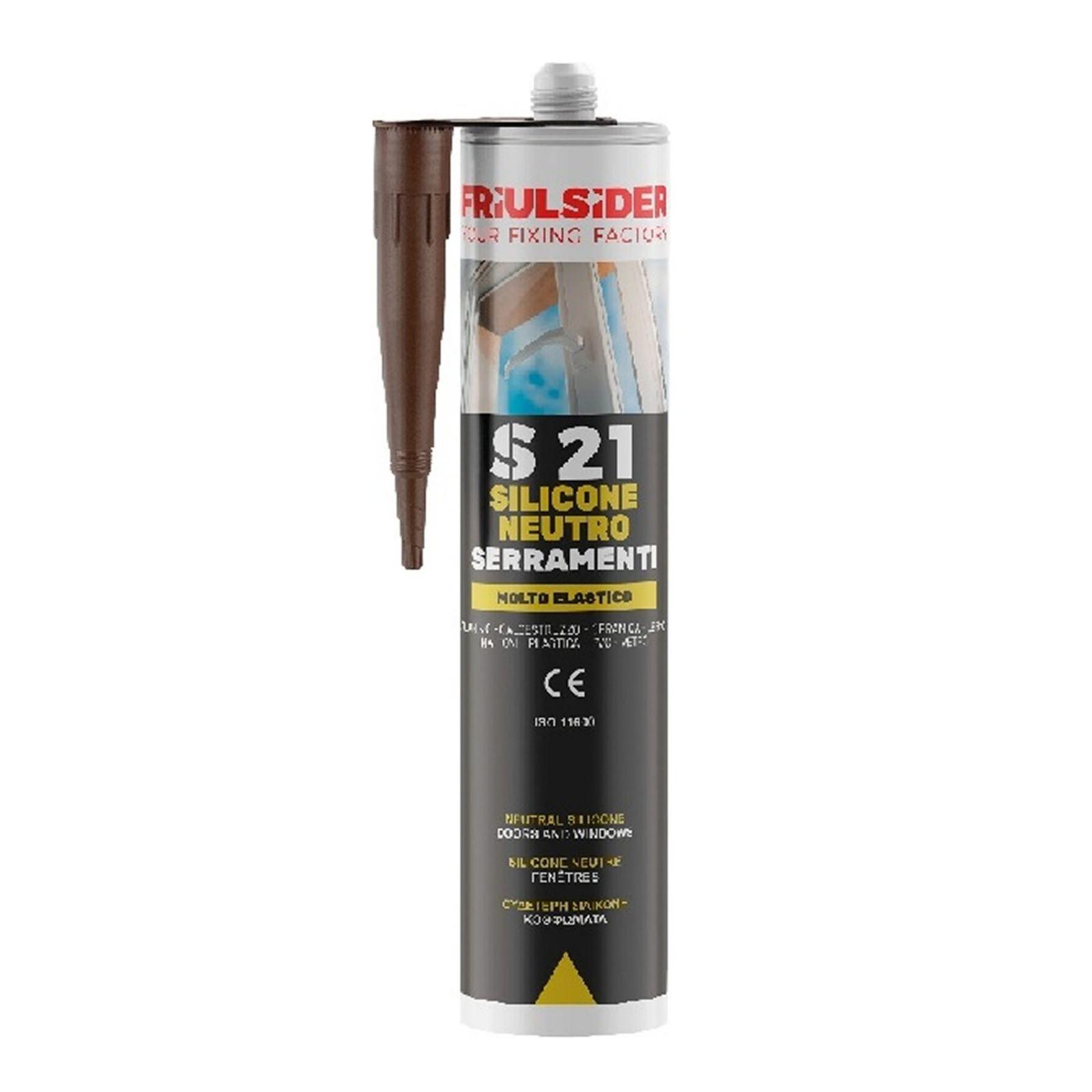 Friulsider silicone neutro S21 serramenti trasparente 310ml