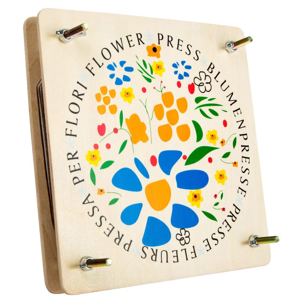 Pressa in legno per fiori e foglie