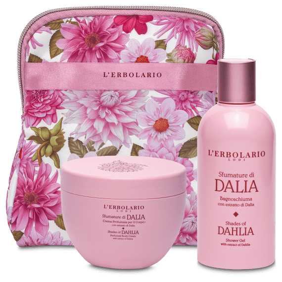 Sfumature di Dalia Beauty Set Petalo con Bagnoschiuma 250 ml e Crema Profumata per il Corpo 300 ml - Ed.Lim.