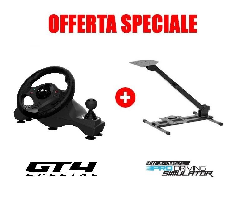 Volante GT4 Special + Universal Pro Driving Simulator