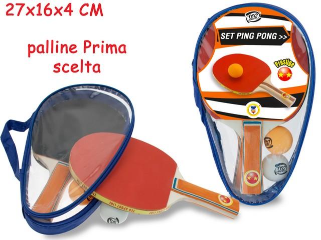 RACCHETTE PING PONG PRESTIGE IN SACCA 51286 TEOREMA