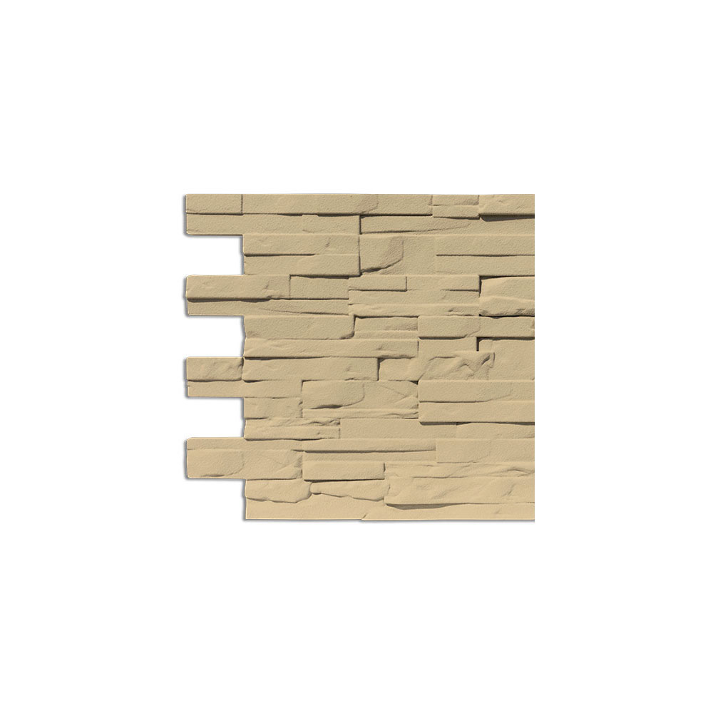 Modern Covered Stone Panel Tufo Sample