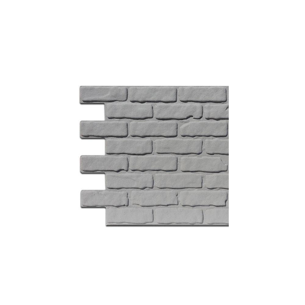 Covered Brick Panel Grigio Sample