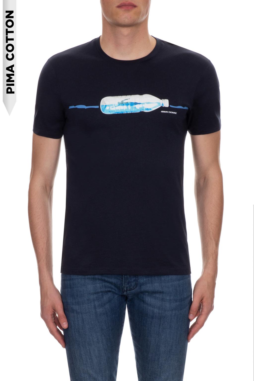 T-shirt uomo bottiglia riciclo ARMANI EXCHANGE