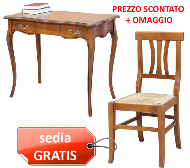 OFFERTA COMBO! Scrittoio + sedia GRATIS