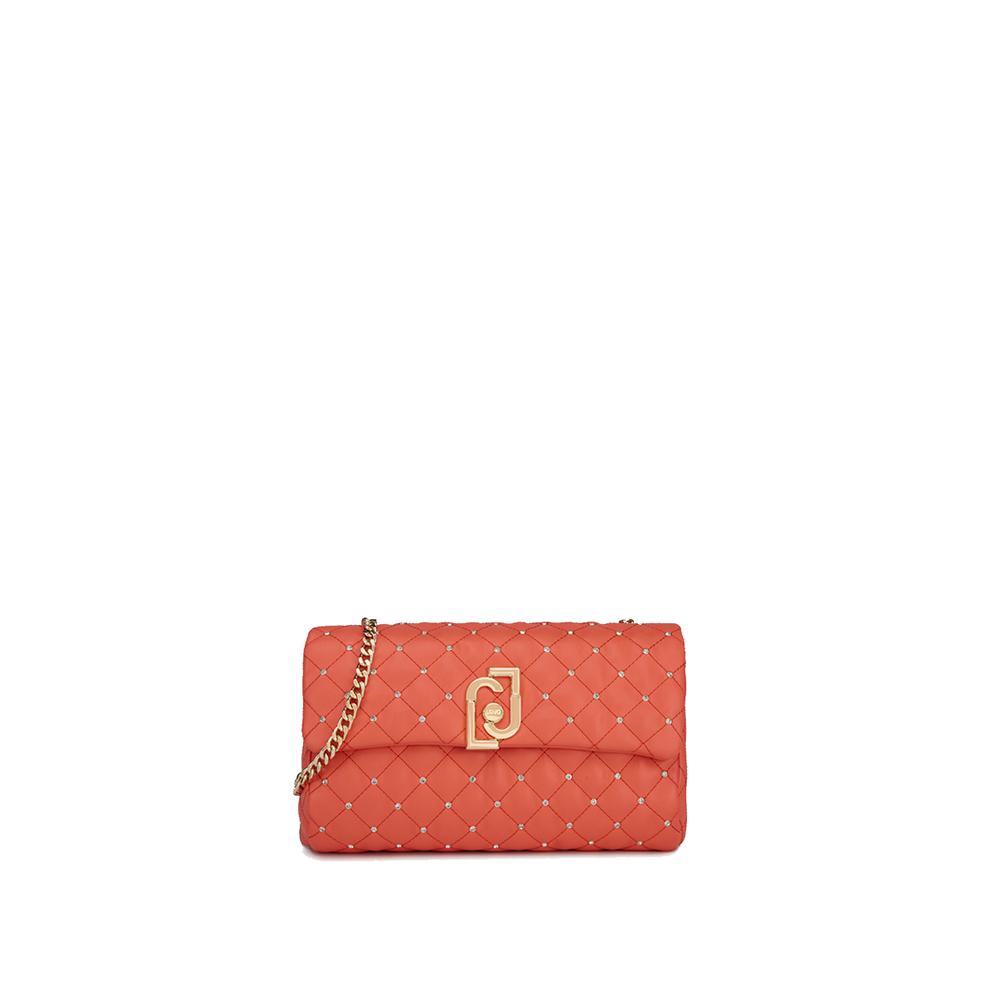 S CROSSBODY - Lj Bag piccola colore rosso corallo - LIU JO