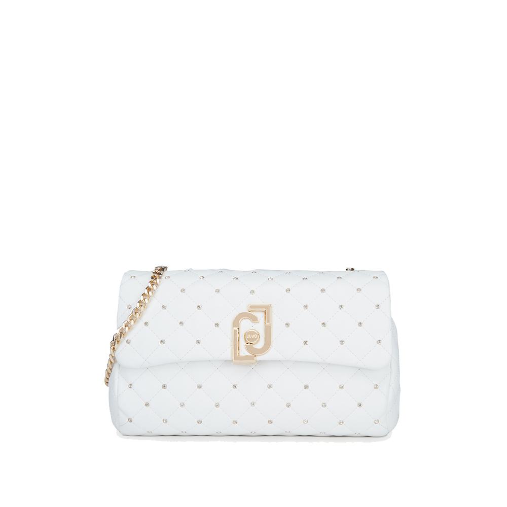 M CROSSBODY - LJ Bag -colore bianco - LIU JO