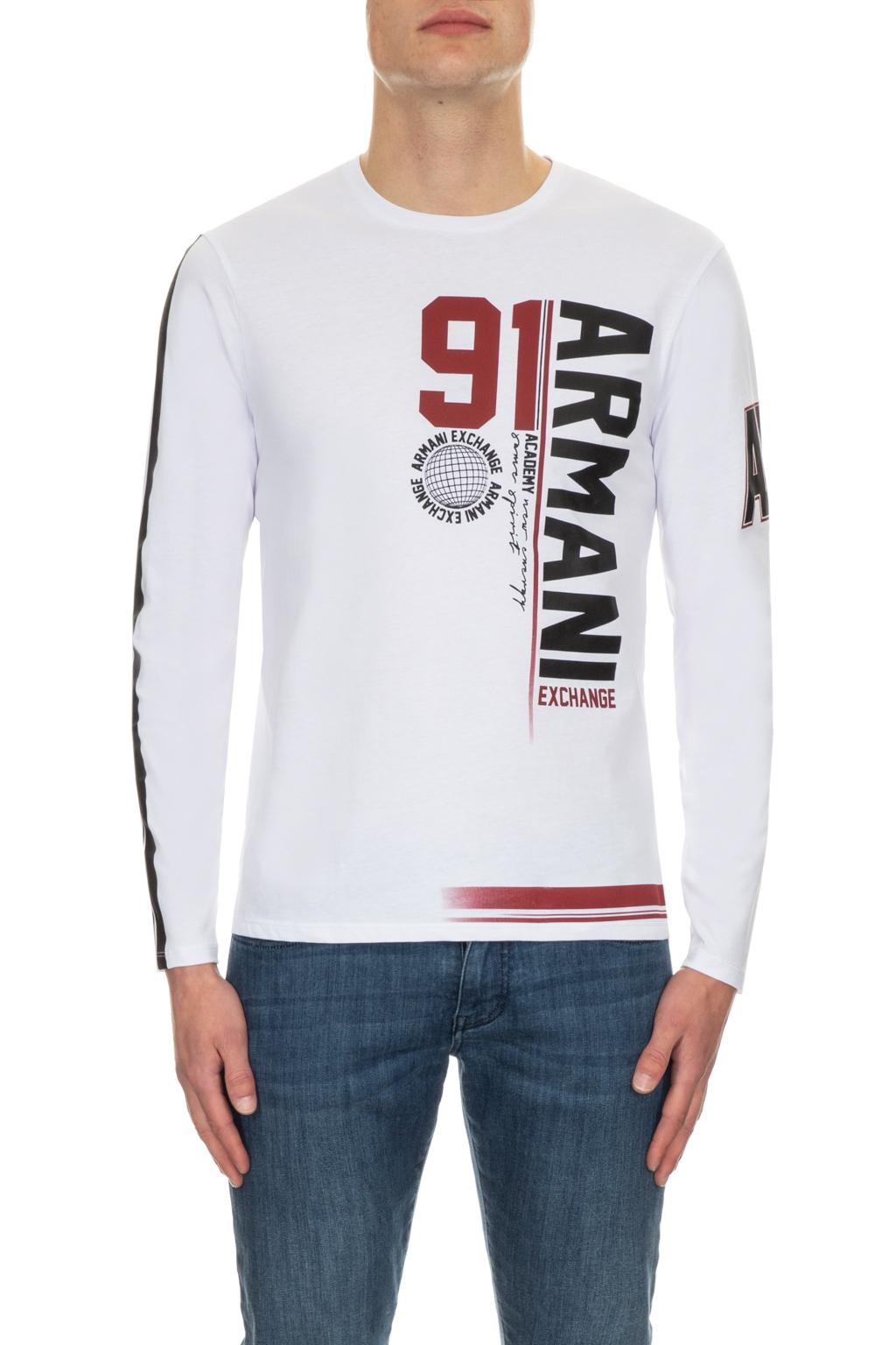 T-shirt uomo stampata manica lunga ARMANI EXCHANGE
