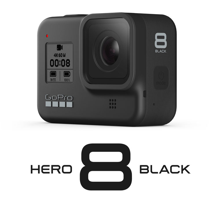 Go Pro Hero 8 + Scheda 32G