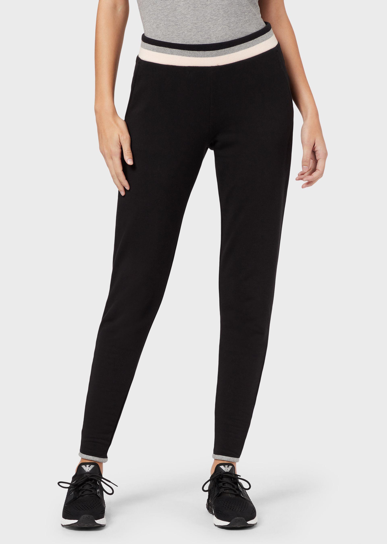 Pantaloni donna EA7 in felpa