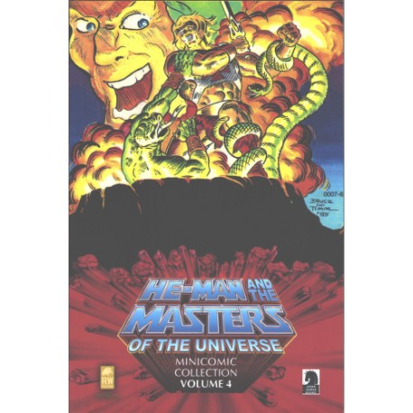 Fumetto: HE-MAN AND THE MASTERS OF THE UNIVERSE MINICOMIC COLLECTION VOL. 4