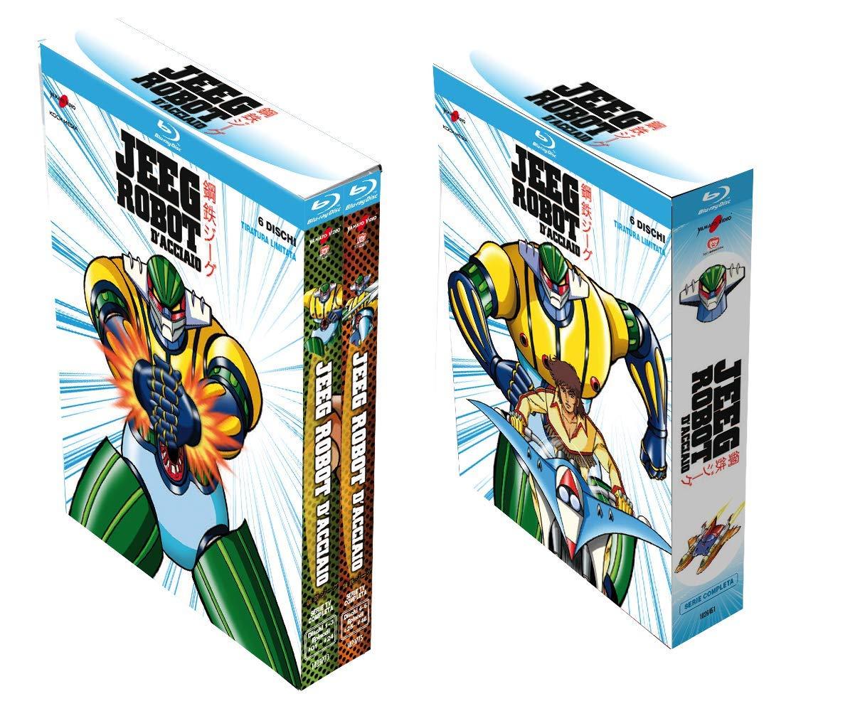 Jeeg Robot d'Acciaio - Serie Completa (Edizione Limitata 6 dischi) (Blu-Ray)