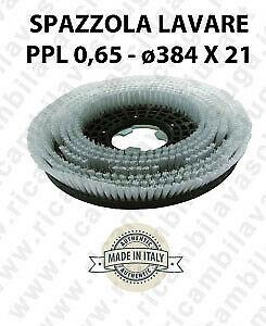 Cepillo Standard  in PPL 0,65. Dimensiones ø384 X 121 valida para fregadora, monospazzole (17 pollici) e spazzatrici-2
