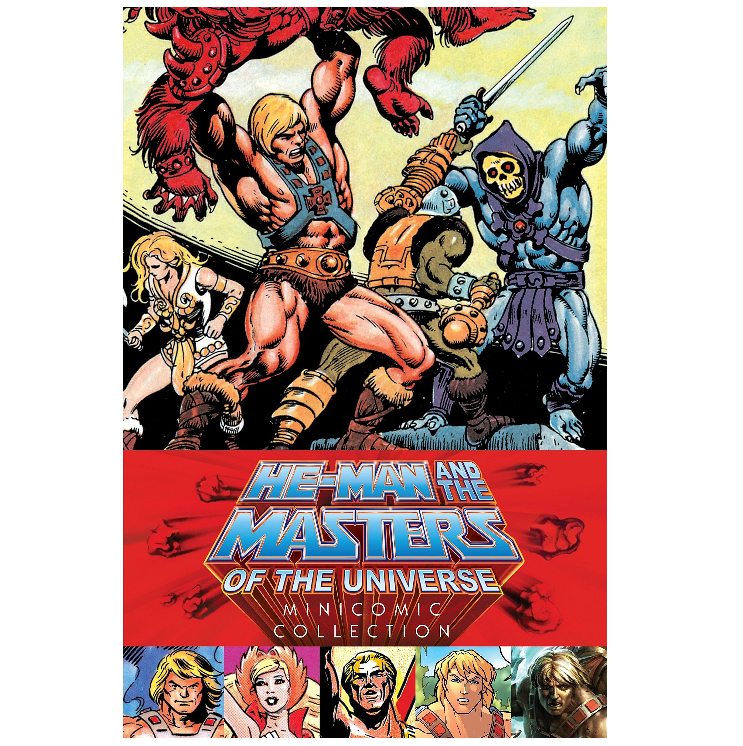 Libro: HE-MAN AND THE MASTERS OF THE UNIVERSE Minicomics Collection
