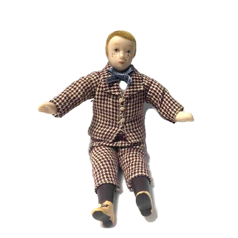 UOMO PERSONAGGIO casa delle bambole in resina