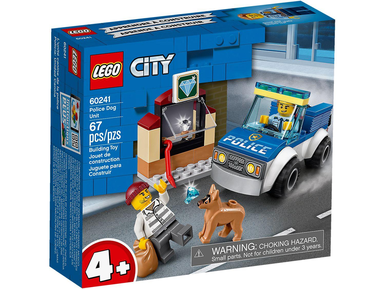 LEGO CITY UNITA' CINOFILA DELLA POLIZIA 60241