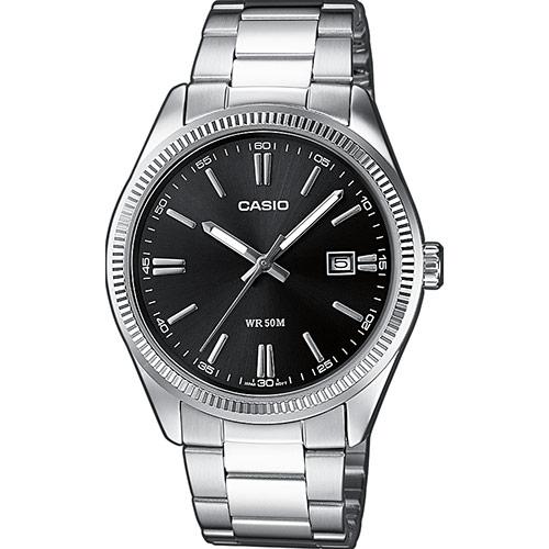 orologio casio uomo acciaio