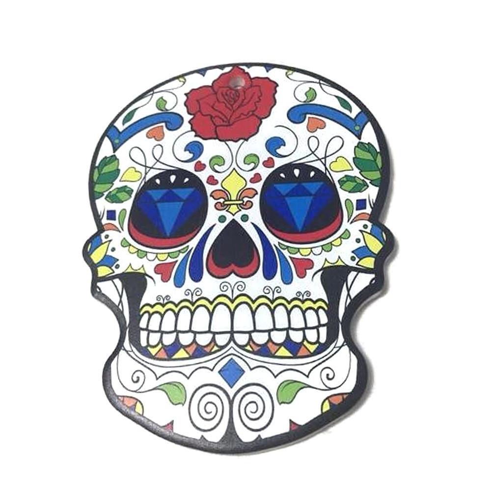 Sottopentola teschio messicano sughero e ceramica