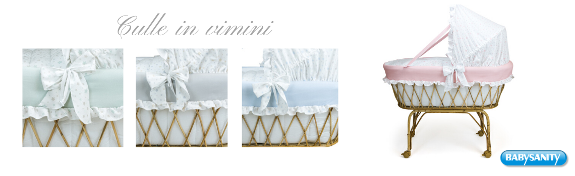 Paracolpi Made in italy di ottima qualit/à con ampia scelta colori per lettino Azzurro pois